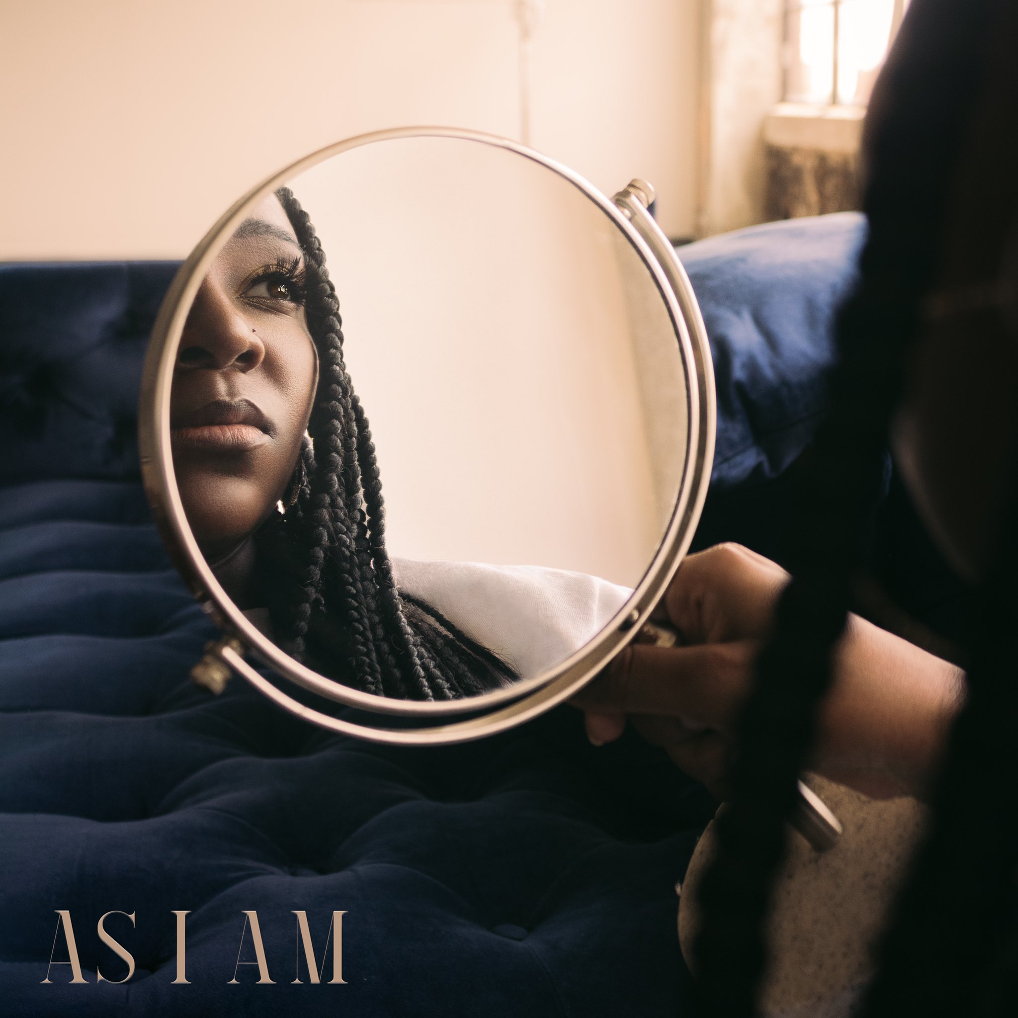 Cover of 'As I Am' by Brittney Carter. Photography by Lauren Washington