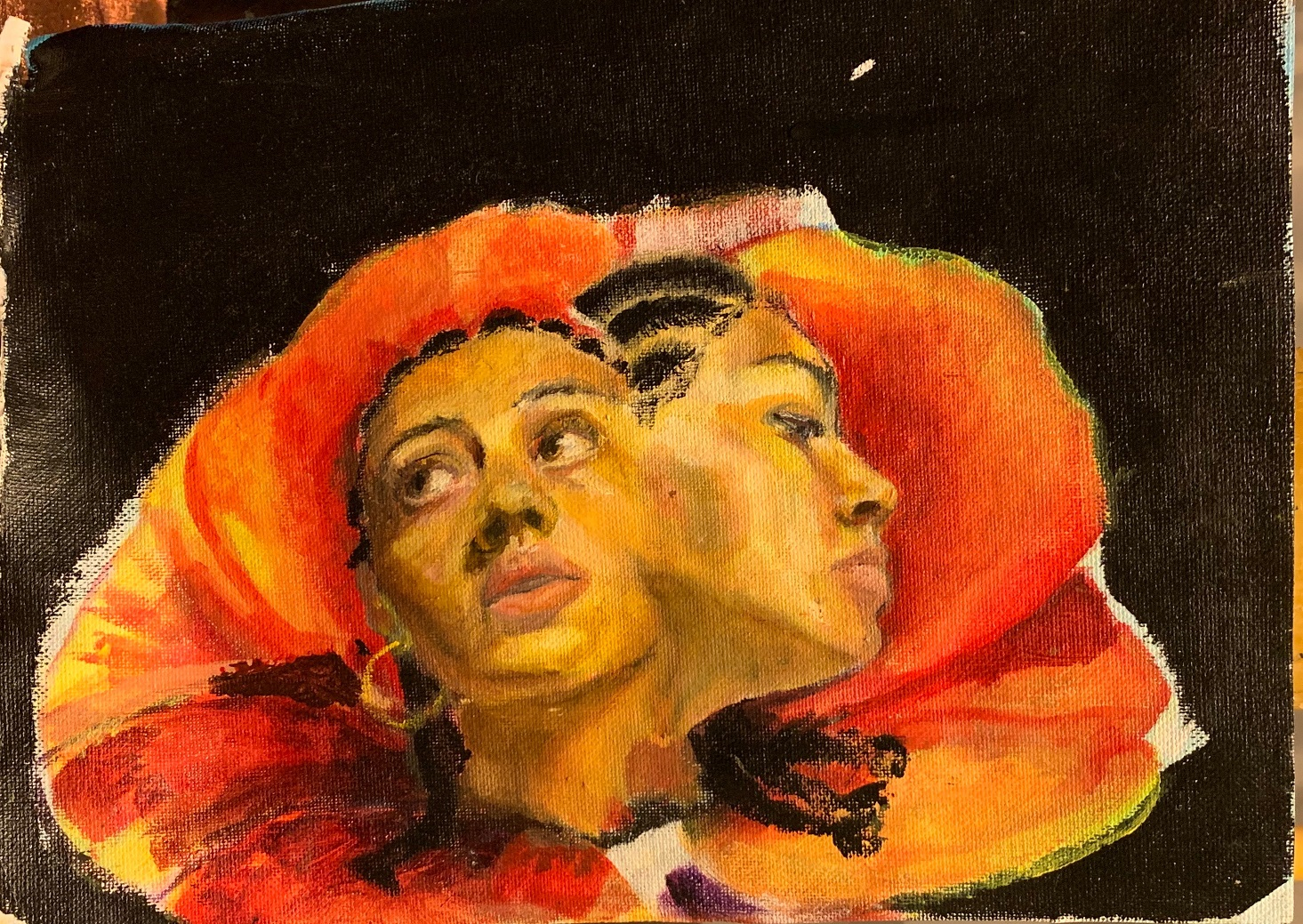 Painting by Marcela Okeke